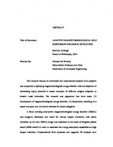 ABSTRACT Title of Document: ADAPTIVE ... - DRUM