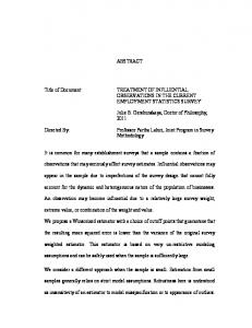 ABSTRACT Title of Document: TREATMENT OF ... - DRUM
