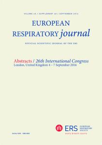 Abstracts / 26th International Congress