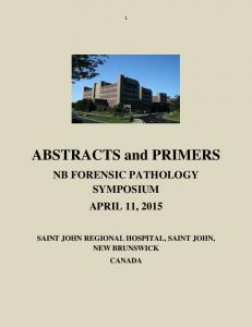 ABSTRACTS and PRIMERS