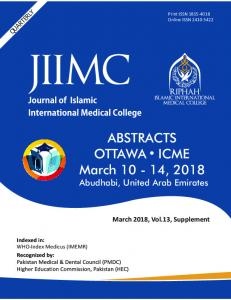 ABSTRACTS March 10 - 14, 2018 OTTAWA ICME