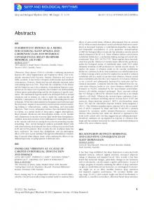 Abstracts - Wiley Online Library