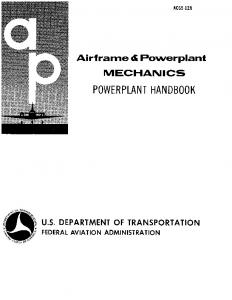 AC 65-12A - Airframe and Powerplant Mechanics _ Powerplant ...