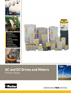 AC and DC Drives and Motors - Parker