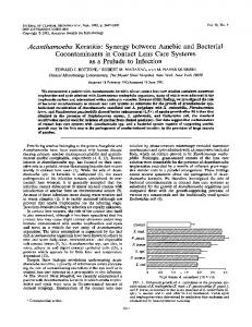 Acanthamoeba Keratitis - Journal of Clinical Microbiology - American ...