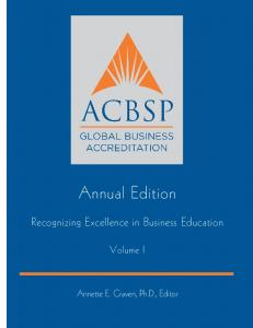 ACBSP Annual Edition - Accreditation Council for Business Schools ...