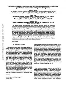 Accelerated Bayesian model-selection and parameter-estimation in ...
