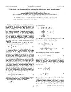 Acceleration radiation and the generalized second law of ...
