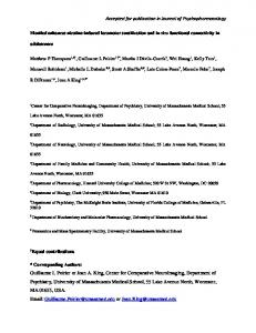 Accepted for publication in Journal of ...