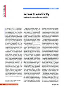 access to electricity - IEEE Xplore