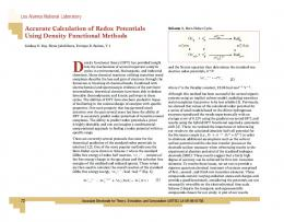 Accurate Calculation of Redox Potentials Using