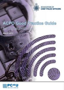 ACPO Good Practice Guide for Digital Evidence
