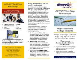 ACT/SAT Test Prep Workshops - The Literacy Company