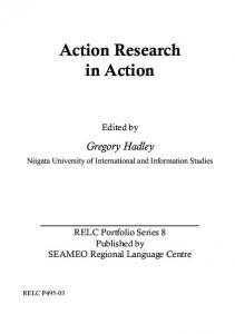 Action Research in Action