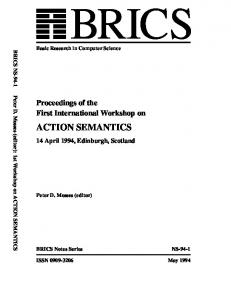 action semantics - Semantic Scholar