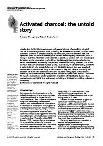 Activated charcoal: the untold story