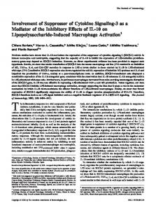 Activation Lipopolysaccharide-Induced Macrophage Effects of IL-10 ...