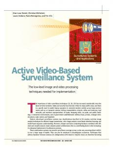 Active video-based surveillance system - IEEE Xplore