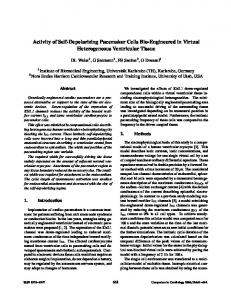 Activity of Self-Depolarizing Pacemaker Cells Bio-Engineered in ...