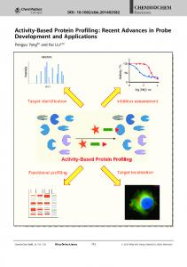ActivityBased Protein Profiling: Recent ... - Wiley Online Library