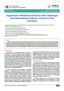 Acupuncture- Mediated Activation of the ... - Juniper Publishers