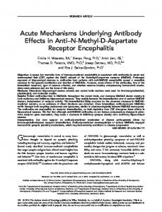 Acute mechanisms underlying antibody effects ... - Wiley Online Library