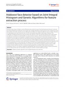 Adaboost face detector based on Joint Integral ... - Semantic Scholar