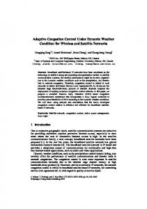 Adaptive Congestion Control Under Dynamic ... - Semantic Scholar