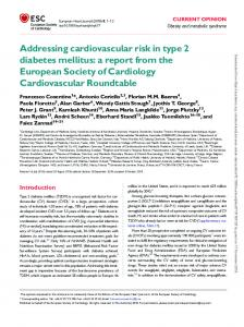 Addressing cardiovascular risk in type 2 diabetes