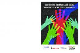 addressing mental health needs among male born