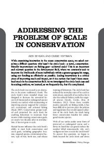 addressing the problem of scale in conservation - Conservation X Labs