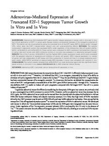 Adenovirusmediated expression of truncated ... - Wiley Online Library