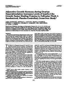 Adjunctive Growth Hormone during Ovarian Hyperstimulation ...