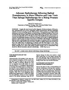 Adjuvant radiotherapy following radical ... - Wiley Online Library