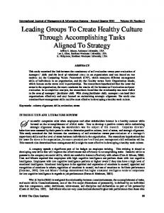 Administrative Structure of the program: To understand ... - Clute Institute