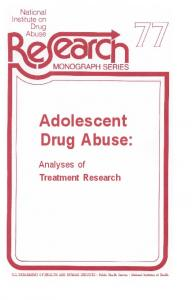 Adolescent Drug Abuse - Archives - National Institute on Drug Abuse