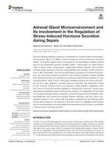 Adrenal Gland Microenvironment and Its ... - Semantic Scholar