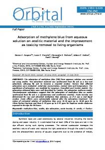 Adsorption of methylene blue from aqueous solution on zeolitic ... - Ipen