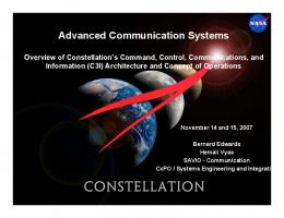 Advanced Communication Systems (3.8 MB PDF ) - NASA