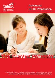 Advanced IELTS Preparation flyer - TAFE SA