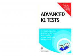 Advanced IQ Tests: The Toughest Practice Questions ... - Cambomaths