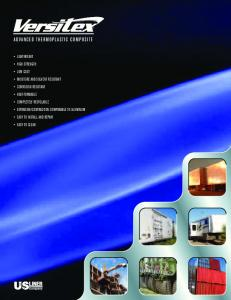 ADVANCED THERMOPLASTIC COMPOSITE - US Liner Company