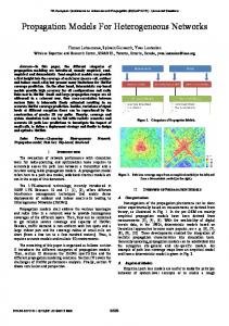 Advanced Topics in Accurate Propagation Modelling ...