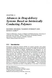 Advances in Drug-delivery Systems Based on