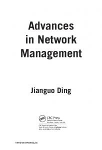 Advances in Network Management - Semantic Scholar