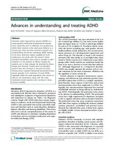 Advances in understanding and treating ADHD