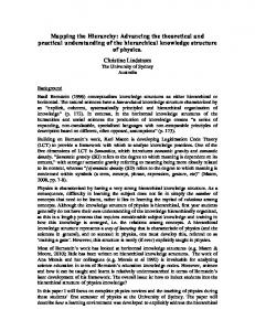 Advancing the theoretical and practical ... - Griffith University