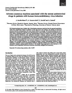 Adverse cutaneous reactions associated with the ... - Oxford Journals