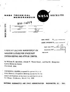 AE* 2 - NASA Technical Reports Server (NTRS)