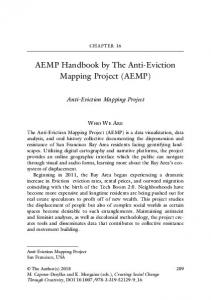 AEMP Handbook by The Anti-Eviction Mapping Project (AEMP)